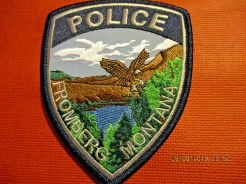 Collectible Montana Police Patch,Fromberg,New