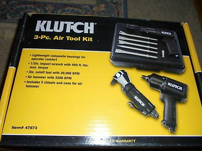 3 Pc Kit -Klutch Heavy Duty 1/2