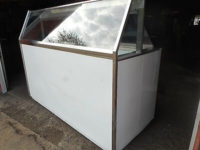 Baskin Robbins 6 Ft. Ice Cream Dip Cabinet 12 Flavors Excellent Condition