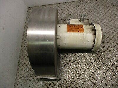 Reliance Squirrel Cage Blower P56x4545 - 3 Hp - 230460 V - 3450 Rpm - 7.43.7