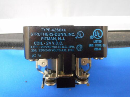 Struthers-Dunn DUNCO RELAY TYPE 425BXX 24 vdc COIL
