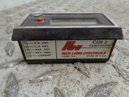 RED LION CONTROLS CUB20000 Totalizing Counter