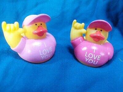 Mini Rubber Duckies (I LOVE YOU Mini Rubber Duckies - 2