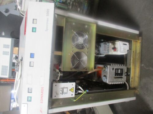 Edwards Spectron 5000 Helium Leak Detector.  Used Production Spare <