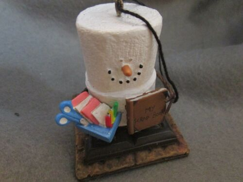 S'Mores Figure With Scrapbook Ornament