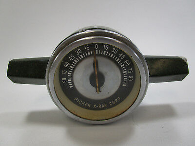 Vintage Picker X-ray Steampunk Dial Gauge