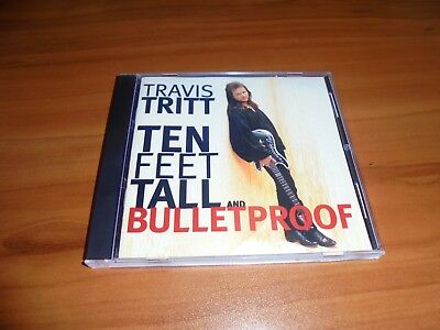 Ten Feet Tall And Bulletproof By Travis Tritt  Cd  Apr 1994  Warner Bros   Used