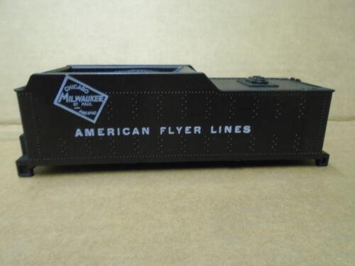 AMERICAN FLYER S GAUGE CHICAGO MILWAUKEE ST PAUL TENDER SHELL FOR LOCOS #21085