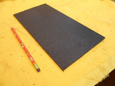 Black Abs Flat Stock Machinable Plastic Sheet Bar Hardcell 316 X 6 X 12