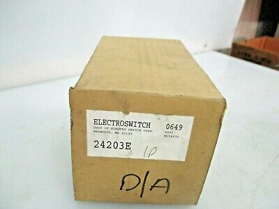 New Electroswitch Rotary Switch 24203e