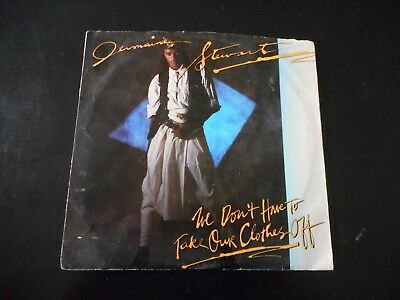 Jermaine Stewart - We Don't Have To Take Our Clothes Off/Give Your Love To Me 45 (Love Me Not Clothing)