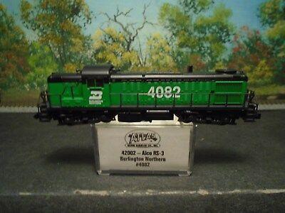 ATLAS N SCALE #42002 ALCO RS-3 BURLINGTON NORTHERN #4082 for sale  Fenelton