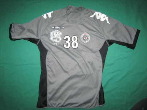 Partizan, Kappa, handball match worn jersey, XL, very good, Serbia