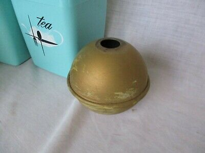 Small ANTIQUE Metal WEATHERVANE Lightning Rod BALL POINT Copper Aluminum