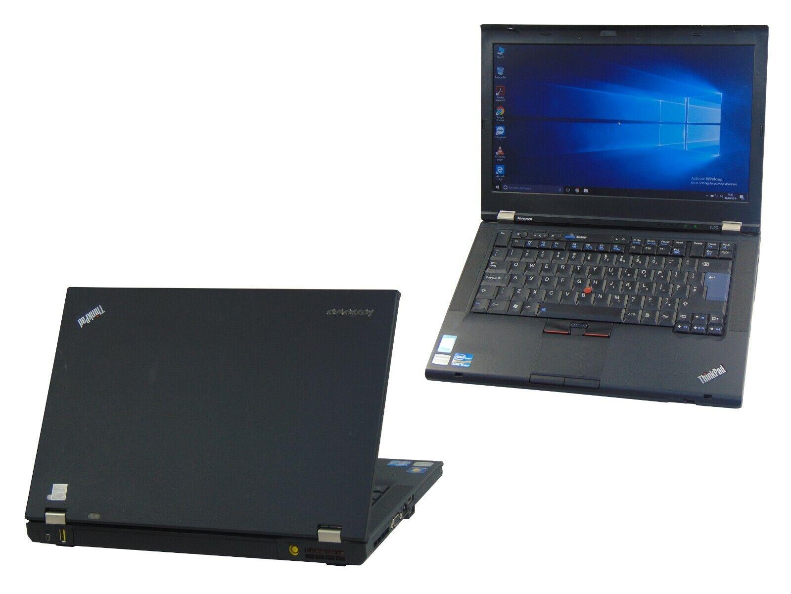 Laptop Windows - Lenovo Laptop Windows 10 Thinkpad T420 Laptop Core i5 2.50GHz 4GB 500GB Warranty