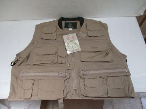 New Old Stock - Orvis Super Tac-L-Pak Fly Fishing Vest- Size Large