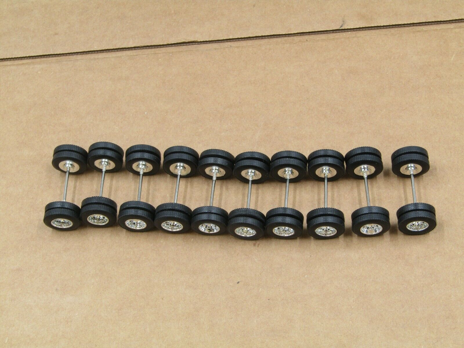 Dcp 10 complete axle sets new loose 1/64  1