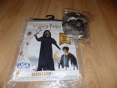 Child Size Small 4-6 Harry Potter Death Eater Halloween Costume Rubie's New