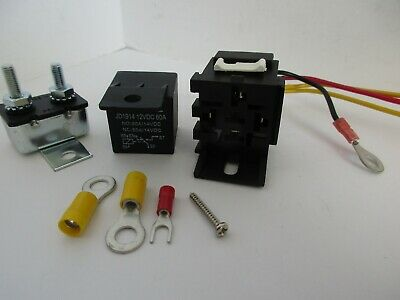 ELECTRIC FUEL PUMP RELAY KIT  50 amp 12 volt CAR TRUCK HOT ROD RAT ROD #3105