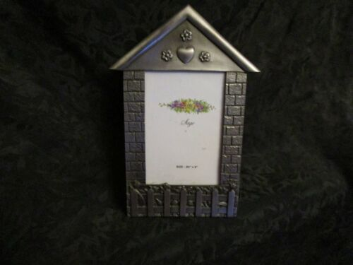 "Pewter Picture Frame 3 1/2"" X 5"""
