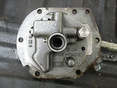1966 Ford 4000 3 Cylinder Gas Tractor Hydraulic Valve Housing Free Shipping
