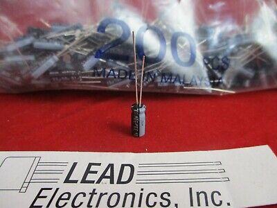 Qty200 Nichicon 33uf 50-volt Radial 105-deg Uvz1h330mdd 33mfd 50v