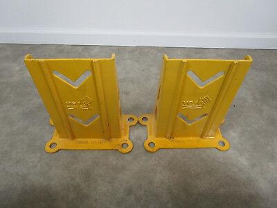 Pair Of Pallet Rack Upright Post Guard Frame Racking Boot Protector Vestilcom