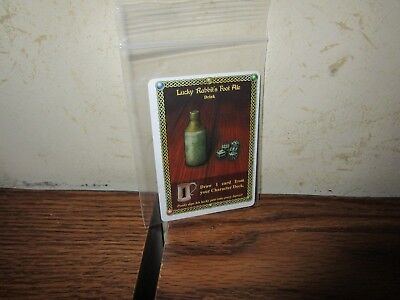 Slugfest Games Red Dragon Inn - Drink Deck Card - Luck Rabbit's Foot Ale for sale  Hazleton