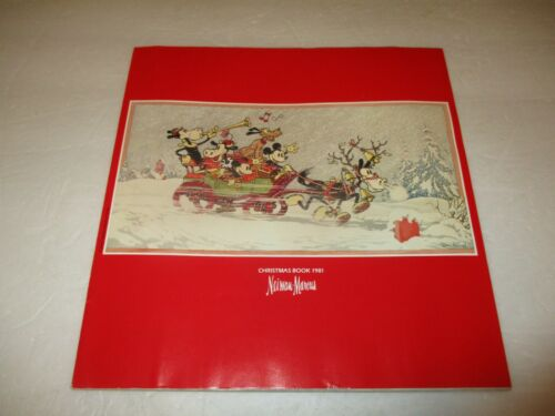Neiman-Marcus Christmas Book catalog 1981