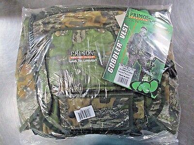 PRIMOS  6561 Gobbler Vest Turkey Hunting Vest 2XL/3XL Mossy Oak NEW