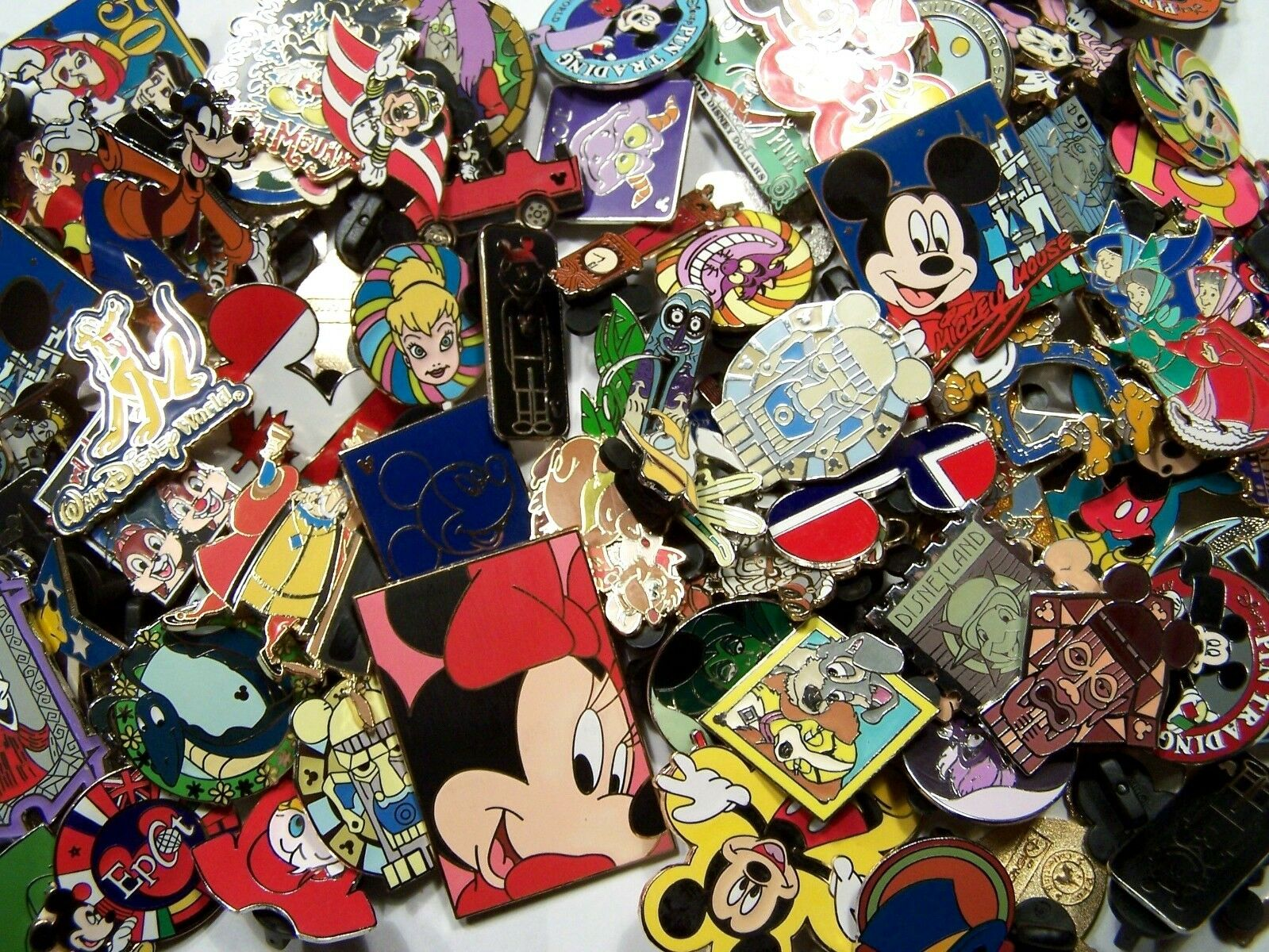 Disney Trading Pin 80 lot HM-RACK-LE-CAST NO DUPS Fastest Shipper in USA