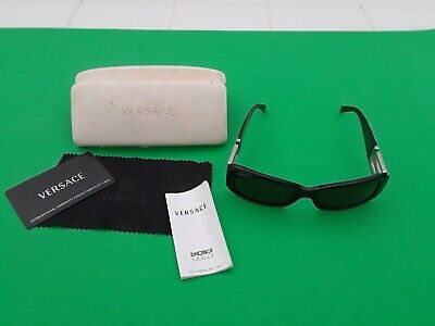 Versace Sunglasses 4111-B  GB1/87 56-17  Greek Key