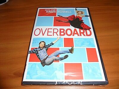 Overboard  Dvd  2009 Widescreen  Goldie Hawn  Kurt Russell New