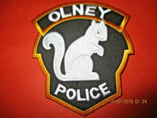 Collectible Illinois Police Patch,Olney,New