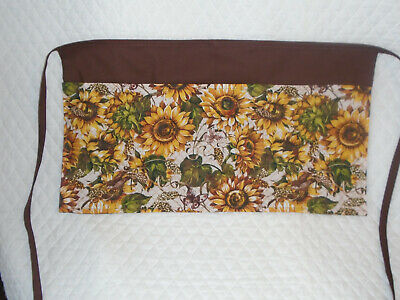 Waitressserver Apron Sunflower Design