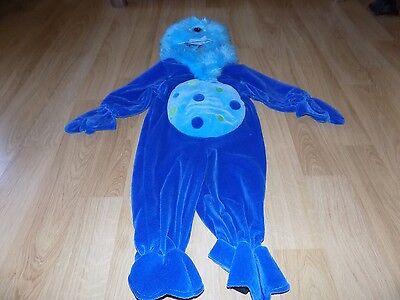 Size 12 Months Koala Kids One Eyed Monster Cyclops Plush Halloween Costume EUC - One Eyed Monster Halloween Costume