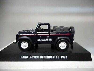 LAND ROVER DEFENDER 90 OPEN PICK-UP 1998 CARABINIERI CENTAURIA 1:43
