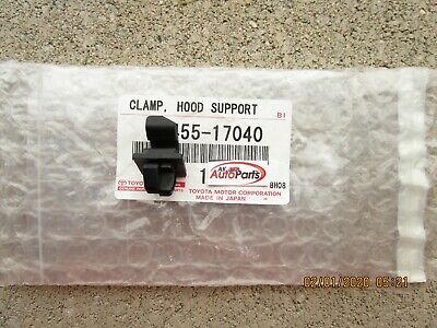 FITS: 91 - 95 TOYOTA MR2 HOOD SUPPORT ROD HOLDER CLAMP RETAINER CLIP OEM -