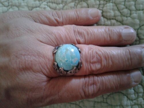 Artisian turquoise ring