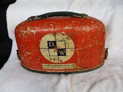 Vintage David White Instruments Dw-8090 Surveyingtransit Wcase