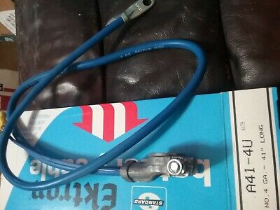Battery Cable Standard A12-1H fits 78-79 Ford Bronco 6.6L-V8