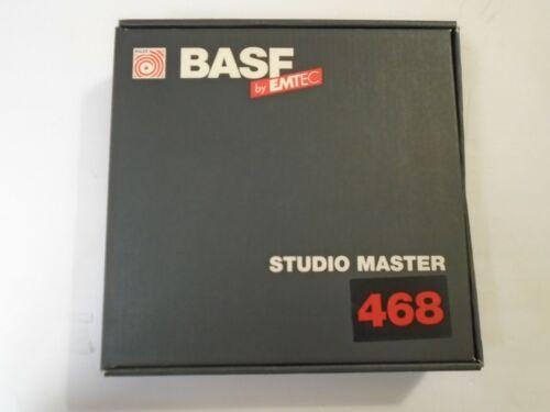 "BASF by Emtec Studio Master 468 2"" Reel to reel studio Recording Tape w/box"