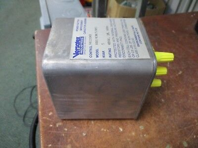 Versatex Power Factor Improvement Capacitor Assembly Abs43m5rf3 5 Kvar Used