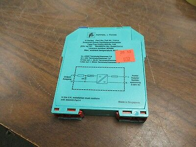 Pepperlfuchs Khd3-isdex 148 Solenoid Driver 71014 Used