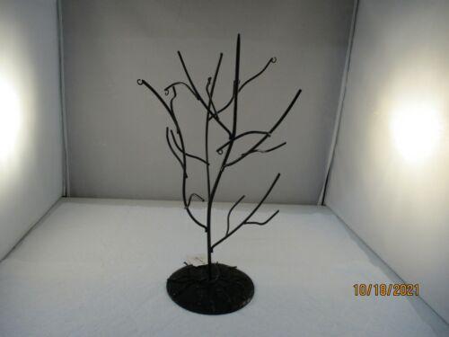 "HALLOWEEN Black Wire Tree 13"" tall"