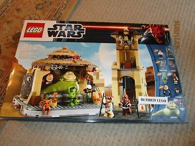 LEGO STAR WARS - 9516 - JABBA'S PALACE - BRAND NEW & FACTORY SEALED - RETIRED