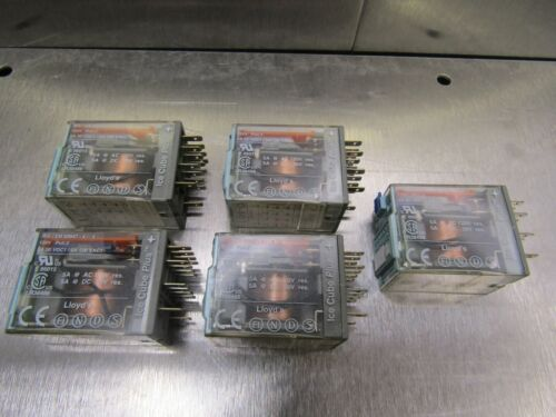 Releco C9-A41X Relay Serie QR-C 24VDC Relay Lot of 5!
