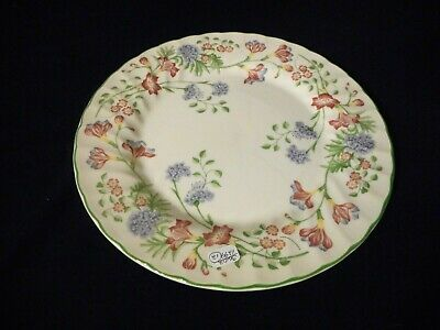 Churchill Fine English China Microwave Dishwasher Safe Set of 4 Dinner Plates