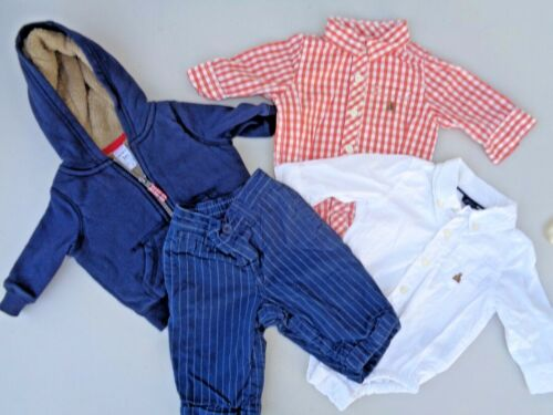 Lot Baby Boys Clothes Size 3-6 M Carter