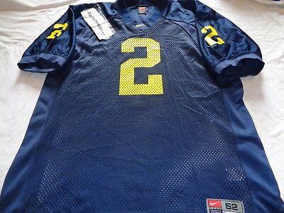 Michigan Wolverines #2 Nike Mesh Body Football Jersey 52 XXL NCAA Players Cut ()